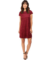 kensie - Drapey Faux Suede Dress KS9K7131