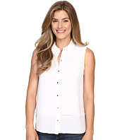 Ellen Tracy - Sleeveless Double Layer Shirt