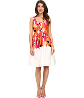 Calvin Klein - Printed Fit and Flare Dress CD6G2R6K