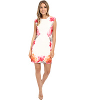 Calvin Klein - Border Print Floral Dress CD6M2L8U