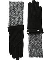 LAUREN Ralph Lauren - Knit Cuff Suede Gloves