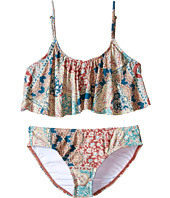 O'Neill Kids - Parker Ruffle Top Bikini Set (Little Kids/Big Kids)