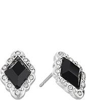 LAUREN Ralph Lauren - Estate Small Faceted Stone Stud Earrings