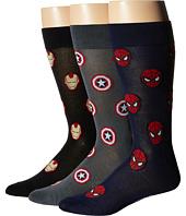 Cufflinks Inc. - Marvel Heroes 3-Pair Socks Gift Set