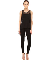 THOMAS WYLDE - Brit Silk Chiffon High-Low Tank Top