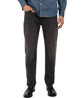 AG Adriano Goldschmied - Graduate Tailored Leg Corduroy Pants in Sulfur Dark Rock