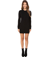 Neil Barrett - Laced Slim Knit Dress