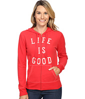 Life is Good - LIG Go To Zip Hoodie