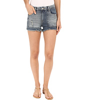 Blank NYC - Patchwork High Rise Shorts in Rough Patch