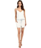 Blank NYC - Bleached Out Tencel Romper in Up In The Air