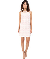 Vince Camuto - Jacquard Sleeveless Shift Dress
