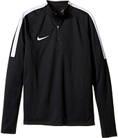 Nike Kids - Squad Long Sleeve 1/4 Zip Soccer Drill Top (Little Kids/Big Kids)