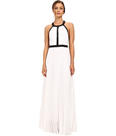 Nicole Miller - Gladiator Combo Silk Gown