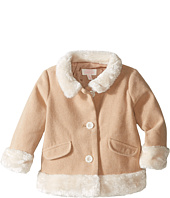 Pumpkin Patch Kids - Fluffy Trim Coat (Infant)