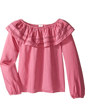 Pumpkin Patch Kids - Giselle Frill Top (Little Kids/Big Kids)