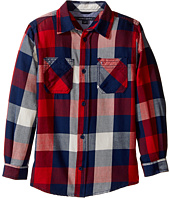 Tommy Hilfiger Kids - Ansel Long Sleeve Shirt (Toddler/Little Kids)