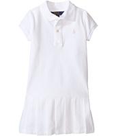 Polo Ralph Lauren Kids - Stretch Mesh Polo Dress (Toddler)