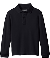 Nautica Kids - Long Sleeve Pique Polo (Little Kids)