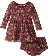 Splendid Littles - Printed Modal/Crickle Chiffon Dress (Infant)