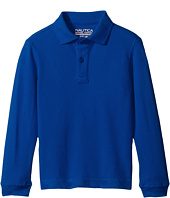 Nautica Kids - Husky Long Sleeve Pique Polo (Big Kids)