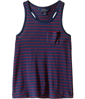 Polo Ralph Lauren Kids - Jersey Stripe Tank Top (Little Kids)