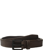 John Varvatos - 30mm Distressed Veg Belt w/ Harness Buckle