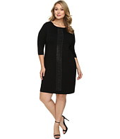 Karen Kane Plus - Plus Size Embellished Sheath Dress