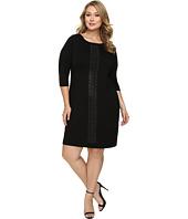 Karen Kane Plus - Plus Size Embellished Sheath Dress