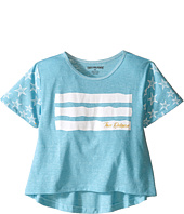 True Religion Kids - Stars & Stripes Drape Tee (Toddler/Little Kids)