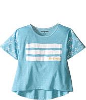 True Religion Kids - Stars & Stripes Drape Tee (Toddler/Little Kids)