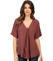 B Collection by Bobeau - Presley Front Pleat Blouse