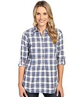 Hatley - Bonded Plaid Pop Over Shirt