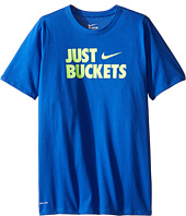 Nike Kids - Just Buckets Tee (Little Kids/Big Kids)
