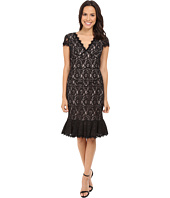 NUE by Shani - Lace Dress w/ Flounce Detail