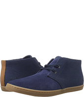 Fred Perry - Byron Mid Suede Woven Canvas