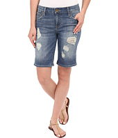 KUT from the Kloth - Catherine Boyfriend Roll Up Shorts in Proper