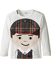Dolce & Gabbana Kids - Back to School Bimbo Moro T-Shirt (Toddler/Little Kids)