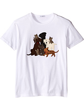 Dolce & Gabbana Kids - Patch Canine Family T-Shirt (Big Kids)