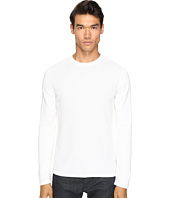 Vince - Jersey Mix-Stitch Long Sleeve Crew