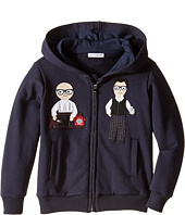 Dolce & Gabbana Kids - Patch Designers Hoodie (Toddler/Little Kids)