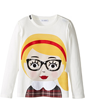 Dolce & Gabbana Kids - Back to School Bimba Bionda Long Sleeve T-Shirt (Toddler/Little Kids)