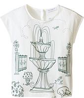 Dolce & Gabbana Kids - Botanical Garden Fountain T-Shirt (Toddler/Little Kids)