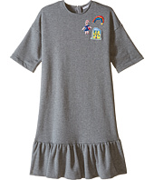 Dolce & Gabbana Kids - Back to School Sweatshirt Dress (Big Kids)