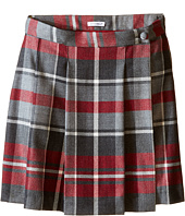 Dolce & Gabbana Kids - Back to School Quadricheck Tartan Skirt (Big Kids)