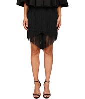Gabriela Cadena - Lace Fringe Shorts