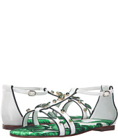 Dolce & Gabbana Kids - Botanical Garden Jeweled Sandal (Little Kid/Big Kid)