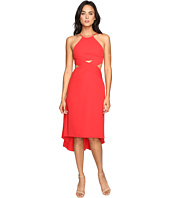 Halston Heritage - Halter Dress with Cut Out Detail