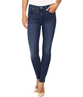 7 For All Mankind - The Ankle Skinny w/ Tonal Squiggle in Slim Illusion Luxe Luminous