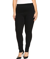 HUE - Plus Size Double Knit Shaping Leggings