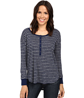 Splendid - Alline Stripe Loose Knit Henley